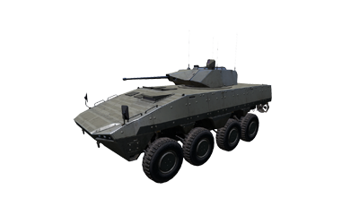 AMV-7 Marshal wheeled APC