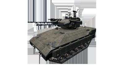 IFV-6a Cheetah tracked IFV AA