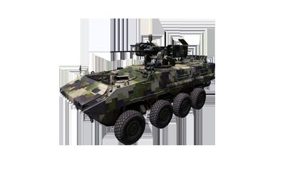 AFV-4 Gorgon wheeled APC