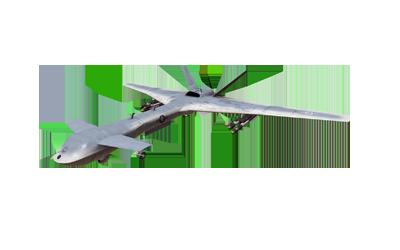 MQ4A Greyhawk & K-40 Ababil-3 attack/recon UAV variants