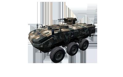 MSE-3 Marid wheeled APC
