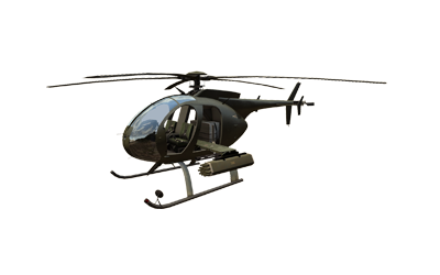 AH-9 Pawnee small attack helicopter