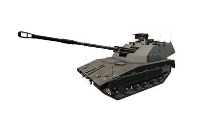 M4 Scorcher self-propelled artillery