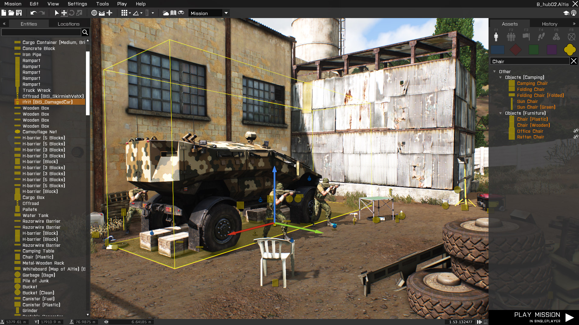 Bohemia interactive presents 2015 2016 roadmap for arma 3 for 3d editor online
