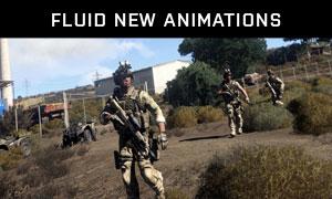 Fluid new animations