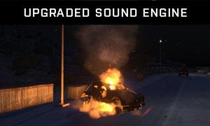 Upgraded sound engine