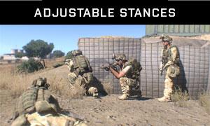 Adjustable stances